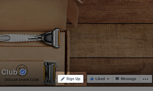 FacebookページにCTAボタン設置が可能に